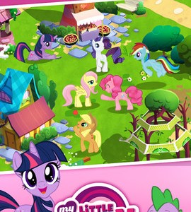 My little pony - aplikacja z programu telewizyjnego